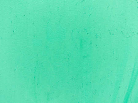 Green pastel painted cement wall. Abstract grunge texture background. Copy space, empty template for text Standard-Bild - 157145582