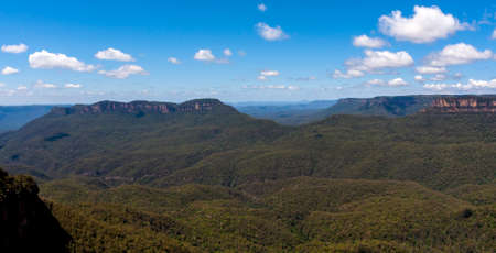 Blue Mountains' most Impressive landmark. Located at Echo Point Katoomba, New South Wales, Australia