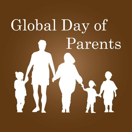 Parents' Day is observed in South Korea and in the United States. The South Korean designation was established in 1973, replacing the Mother's Day previously marked on May 8, and includes public and private celebrations. Vektoros illusztráció