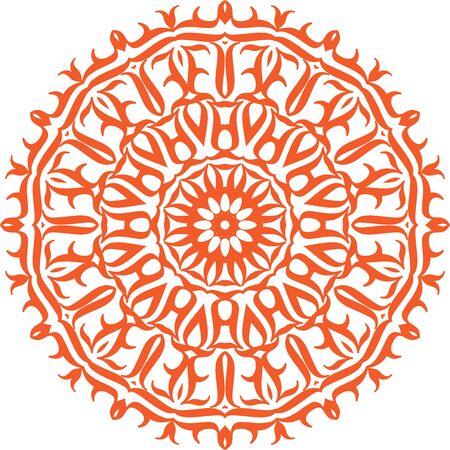 A mandala (emphasis on first syllable; Sanskrit मण्डल, maṇḍala – literally
