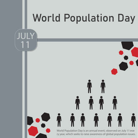 World Population Day is an annual event, observed on July 11 every year, which seeks to raise awareness of global population issues.