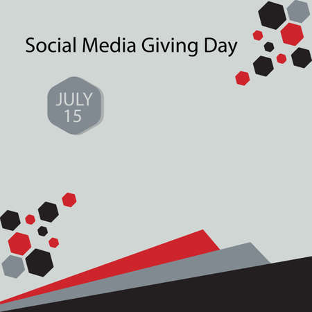 Social Media Giving Day was inaugurated by Givver.com, a platform dedicated to fundraising via Twitter, in 2013. Vettoriali