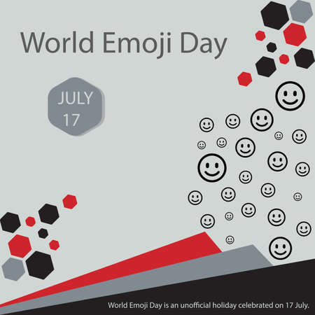 World Emoji Day is an unofficial holiday celebrated on 17 July.