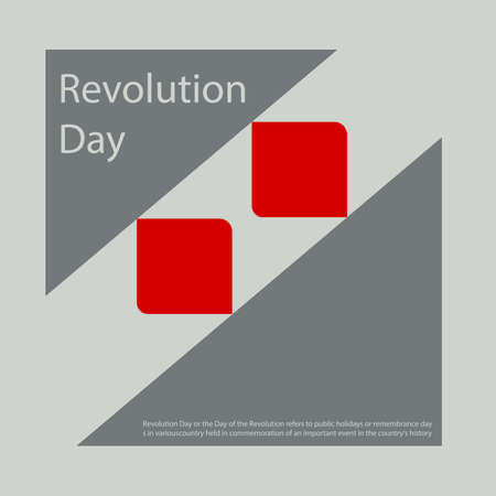 Revolution Day or the Day of the Revolution refers to public holidays or remembrance days in various country.