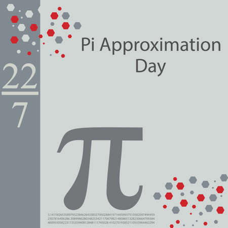 Pi Approximation Day is observed on July 22 since the fraction 22⁄7 is a common approximation of π, which is accurate to two decimal places and dates from Archimedes.