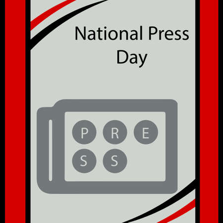 National Press Day is celebrated every year.