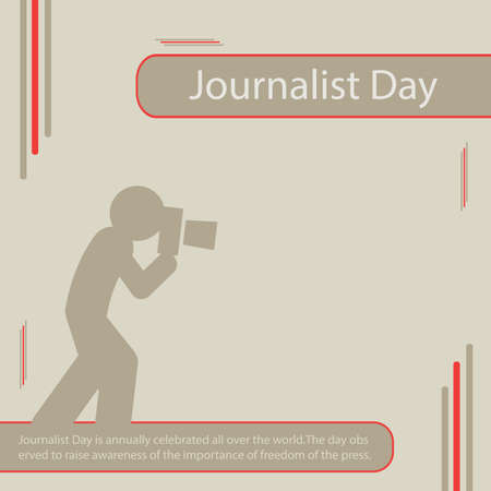 Journalist Day is annually celebrated all over the world.The day observed to raise awareness of the importance of freedom of the press.
