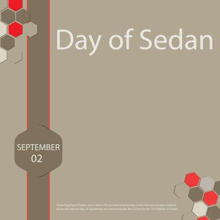Day of Sedan greeting card