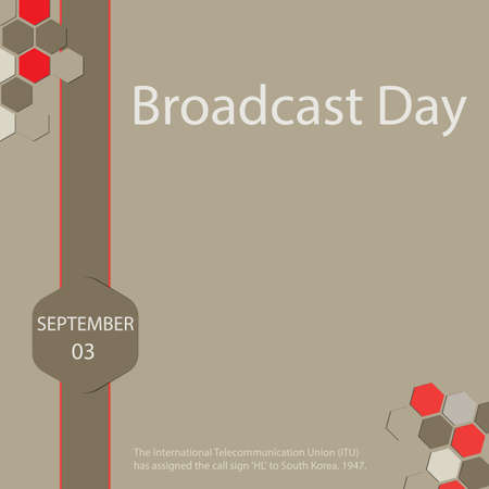 Abstract of Broadcast Day design