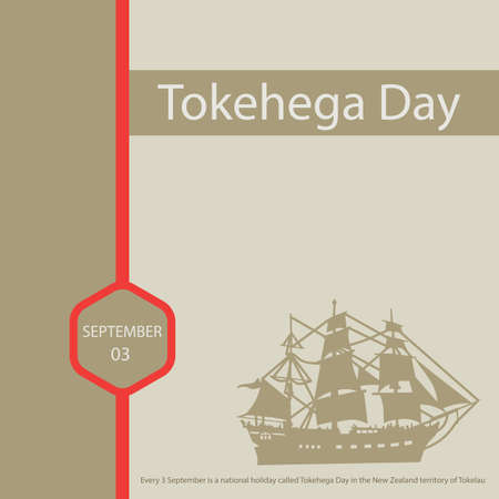 Abstract of Every 3 September is a national holiday called Tokehega Day in the New Zealand