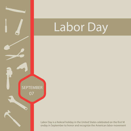 Labor Day is a federal holiday in the United States celebrated on the first Monday in September to honor and recognize the American labor movemen