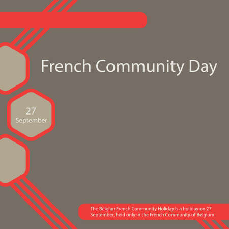 The Belgian French Community Holiday is a holiday on 27 September, held only in the French Community of Belgium.