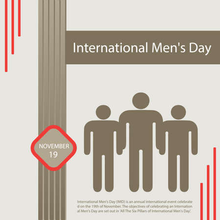 International Men's Day (IMD) is an annual international event celebrated on the 19th of November.