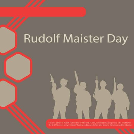 Slovenia observes Rudolf Maister Day on November 23rd, remembering the general who established the first Slovenian army in modern history and secured what later became Slovenia's northern border.