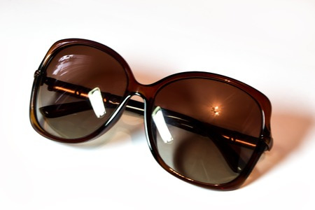 Sunglasses isolated white background Stock Photo