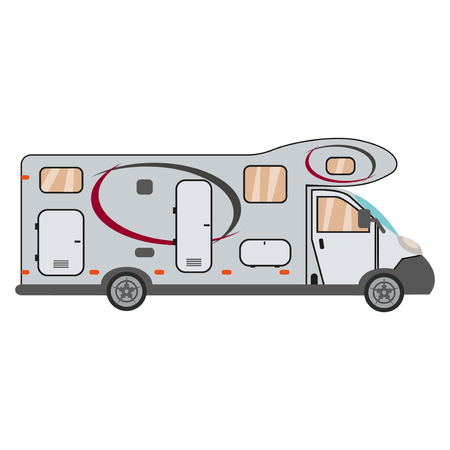 Camper cars mobile home trailers recreational vehicles