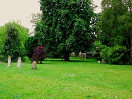 esbjerg: The Park Cemetery in Esbjerg Denmark