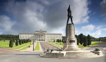 Stormont Northern Ireland Government Buildings Stockfoto - 104683597