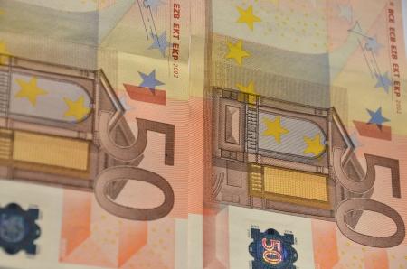 Fifty Euro photo