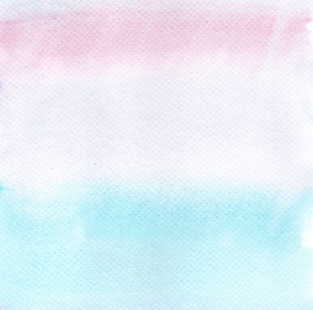 Abstract pink and blue violet watercolor background