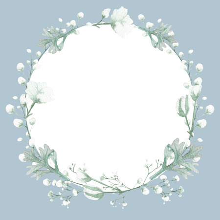 Flower illustration on white background, wedding invitation card, save the date card, greeting card, valentine card