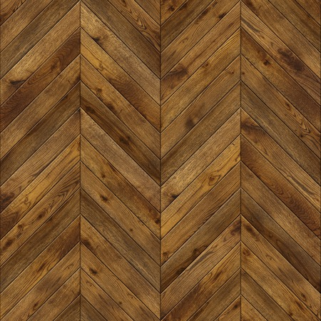 Natural wooden background herringbone, grunge parquet flooring design seamless texture for 3d interior