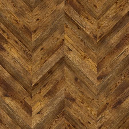 Natural wooden background herringbone, grunge parquet flooring design seamless texture for 3d interior