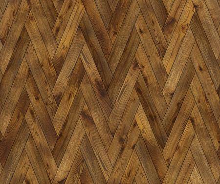 begun: Natural wooden background herringbone, grunge parquet flooring design seamless texture for 3d interior