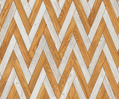 Natural wooden background herringbone, grunge parquet flooring design seamless texture Фото со стока