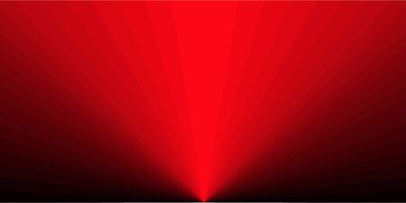 Rectangular background in the form of red rays. Çizim