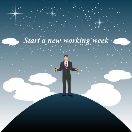 working week: Start a new working week