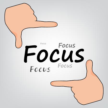 director: focus, Director, silhouette