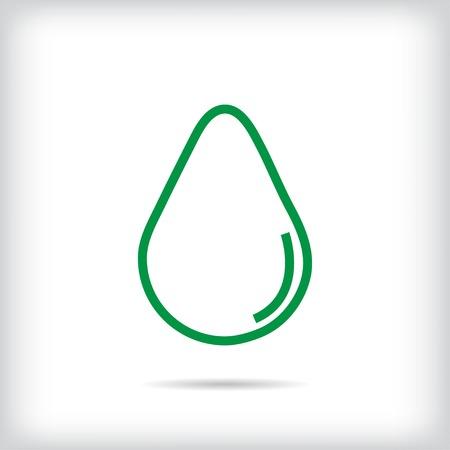 bionomics: Icon green drop shadow