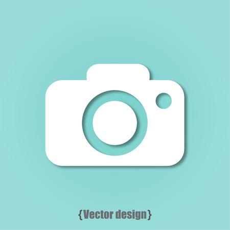 no photo: Photo icon vector design flat