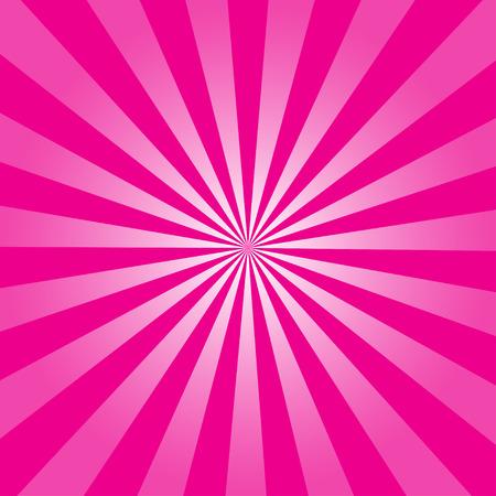 Ray rosa retro fondo ilustración vectorial Foto de archivo - 39708089