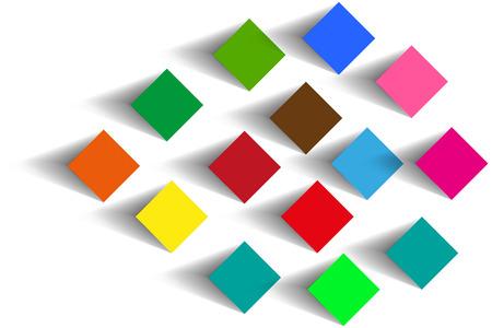 squares background: squares background vector illustration