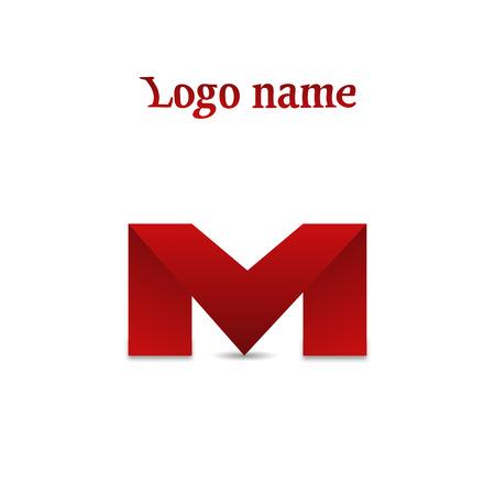 m: Design icons letter M stylish vector illustration logo Illustration