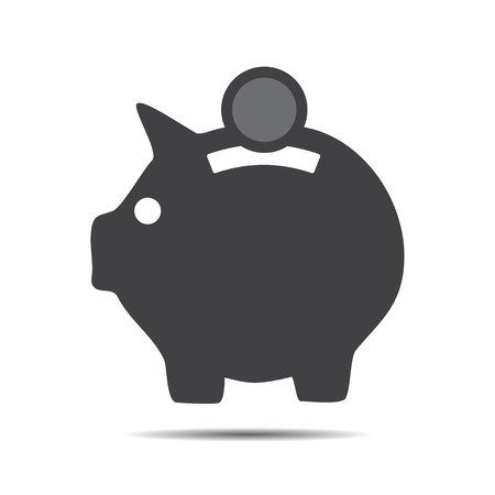 Money Box icon vector illustration