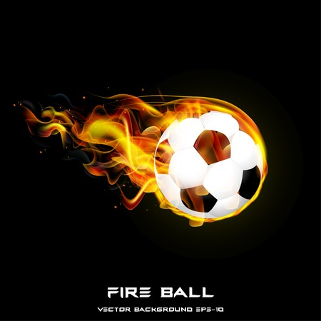 fire ball: Fire Ball vector illustration styles design