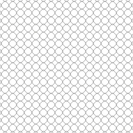Structure of the mesh fence, seamless texture vector illustration Illustration