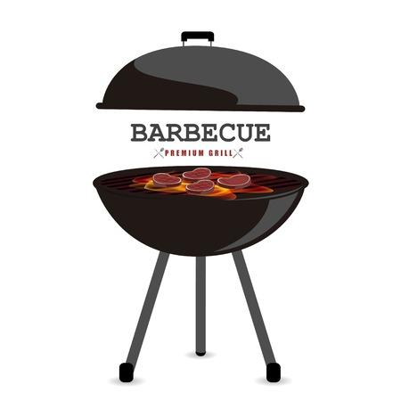 Barbecue illustrazione vettoriale