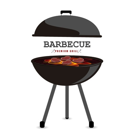 Barbecue vector illustration 免版税图像 - 40547822