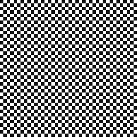 chequer: The black and white squares in a checkerboard pattern vector