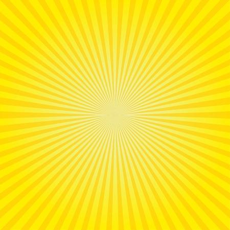 Retro background radiation vector illustration