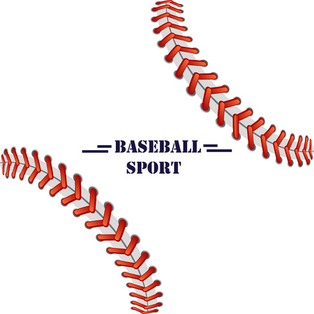 baseball illustration background for text, logo