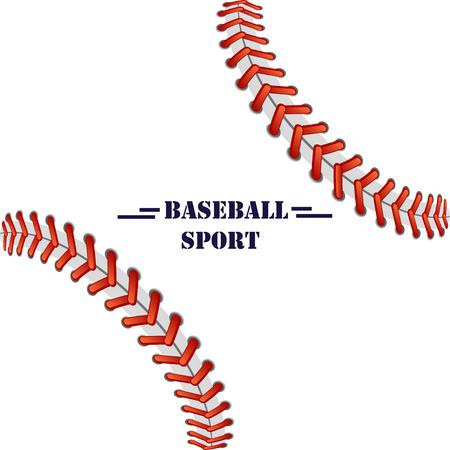 pelota de beisbol: béisbol ilustración de fondo para el texto, logotipo