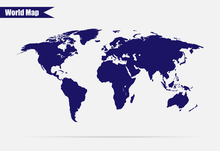 worldmap: Earth vector illustration