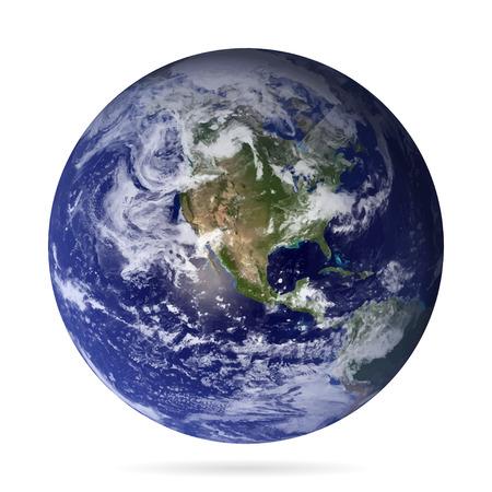 그림자 eps10 벡터 현실적인 지구