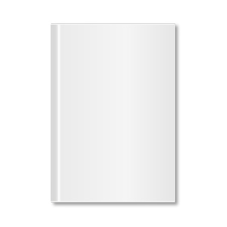 hardcover: Blank square hardcover paper with shadow
