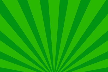 sun flares: Rays background green retro